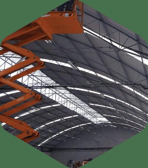 Construção, reforma e troca de telhados em geral